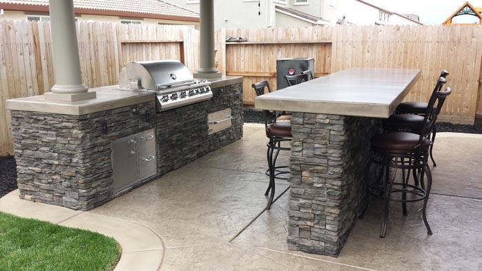 Outdoor Kitchen Vacaville