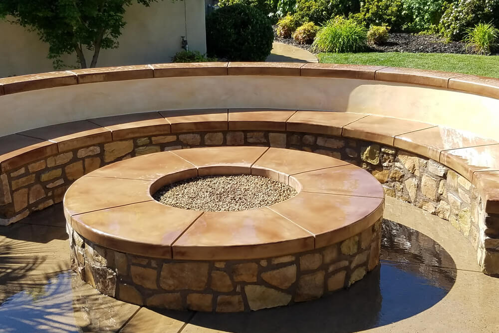 Natural Gas Outdoor Fire Pit Rocklin